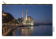 The Ortakoy Mosque And Bosphorus Bridge At Dusk Carry-all Pouch