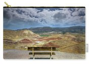 The Overlook At Painted Hills In Oregon Carry-all Pouch