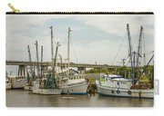 The Paddler Tybee Island Shrimp Boats Carry-all Pouch
