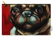 The Painted Pug Carry-all Pouch
