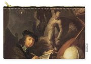 The Painter In His Workshop 1647 Carry-all Pouch