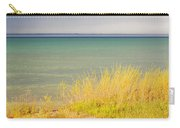 weather ,storm,weather ,clouds ,cloudy ,blue ,skies ,water, marine,beach, marine, cottage, Michigan, Carry-all Pouch