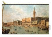 The Palace And The Molo From The Basin Of San Marco Carry-all Pouch