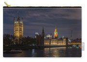 The Palace Of Westminster By Night Carry-all Pouch