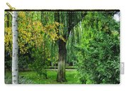 The Park Federico Garcia Lorca Is Situated In The City Of Granada, In Spain. Carry-all Pouch