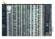 The Parkshore Condominiums Building Chicago Aerial Carry-all Pouch