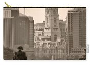 The Parkway In Sepia Carry-all Pouch by Bill Cannon