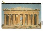 The Parthenon Carry-all Pouch by Louis Dupre