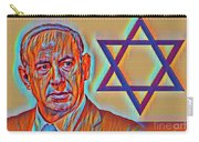 The Passion Of Benjamin Netanyahu Carry-all Pouch
