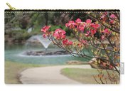 The Path To The Fountain Carry-all Pouch
