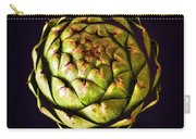 The Patterns Of The Artichoke Carry-all Pouch