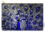 The Peacock Fan Carry-all Pouch