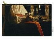 The Penitent Magdalen, Georges De La Tour Carry-all Pouch