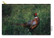 The Pheasant In The Autumn Colors Carry-all Pouch