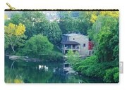 The Philadelphia Canoe Club At The Mouth Of The Wissahickon Carry-all Pouch