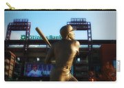 The Phillies - Mike Schmidt Carry-all Pouch by Bill Cannon