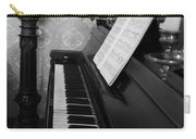 The Piano - Black And White Carry-all Pouch