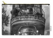 The Pickle Barrel 3 B W Flatiron Architecture Chattanooga Tennessee Art Carry-all Pouch