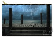 The Pier And The Storm Carry-all Pouch