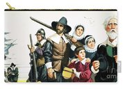 The Pilgrim Fathers Arrive In America Carry-all Pouch