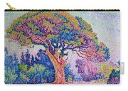 The Pine Tree At Saint Tropez Carry-all Pouch by Paul Signac