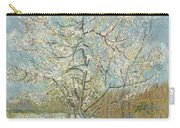 The Pink Peach Tree Arles, April - May 1888 Vincent Van Gogh 1853  1890 Carry-all Pouch