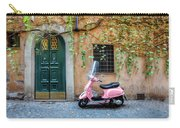 The Pink Vespa Carry-all Pouch