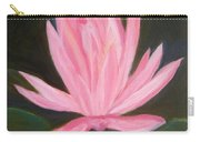 The Pink Water Lily Carry-all Pouch