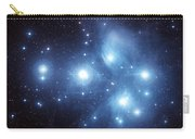 The Pleiades Star Cluster Carry-all Pouch by Charles Shahar