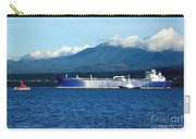 The Polar Resolution Oil Tanker Port Angeles Harbor Wa Carry-all Pouch