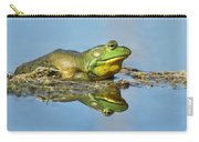 The Pond King Carry-all Pouch by Mircea Costina Photography