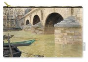 The Pont Marie. Paris Carry-all Pouch