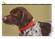 The Pooch With A Red Collar Carry-all Pouch