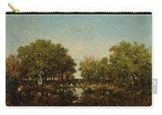 The Pool, Memory Of The Forest Of Chambord Carry-all Pouch