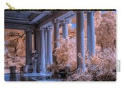 The Porch Of The European Collection Art Gallery At The Huntington Library In Infrared Carry-all Pouch
