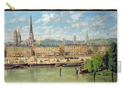 The Port At Rouen Carry-all Pouch