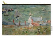 The Port Of Gorey On Jersey Carry-all Pouch by Berthe Morisot