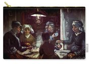The Potato Eaters, By Vincent Van Gogh, 1885, Kroller-muller Mus Carry-all Pouch