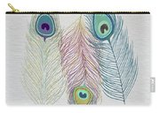 The Power Of Three Be Wild Be Free  Carry-all Pouch