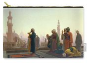 The Prayer Carry-all Pouch by Jean Leon Gerome