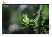 The Praying Mantis Carry-all Pouch