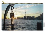 The Precision Of Sunset In The Harbour Carry-all Pouch