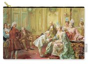 The Presentation Of The Young Mozart To Mme De Pompadour At Versailles Carry-all Pouch
