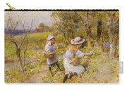 The Primrose Gatherers Carry-all Pouch