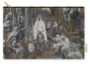 The Procession In The Streets Of Jerusalem Carry-all Pouch by Tissot