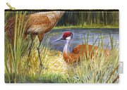 The Protector - Sandhill Cranes Carry-all Pouch