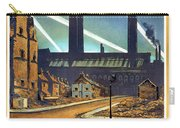 The Proud City - London Underground, London Metro - Retro Travel Poster - Vintage Poster Carry-all Pouch