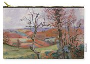 The Puy Barion At Crozant Carry-all Pouch by Jean Baptiste Armand Guillaumin