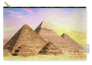 The Pyramids Of Giza Carry-all Pouch