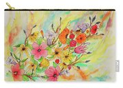 The Queens Garden Carry-all Pouch
